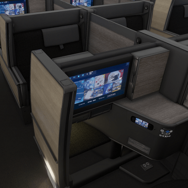 ANA Business Class VR